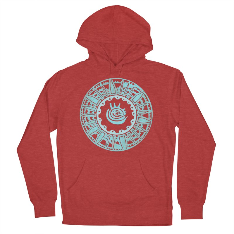 Heart Scenter Men's French Terry Pullover Hoody by jon cooney's print shop
