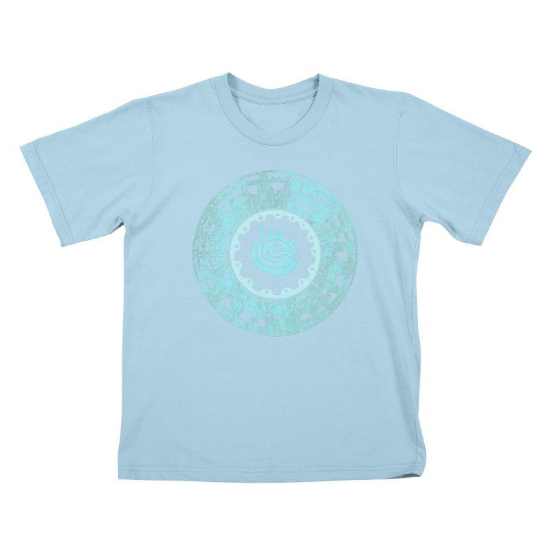 Heart Scenter Kids T-Shirt by jon cooney's print shop