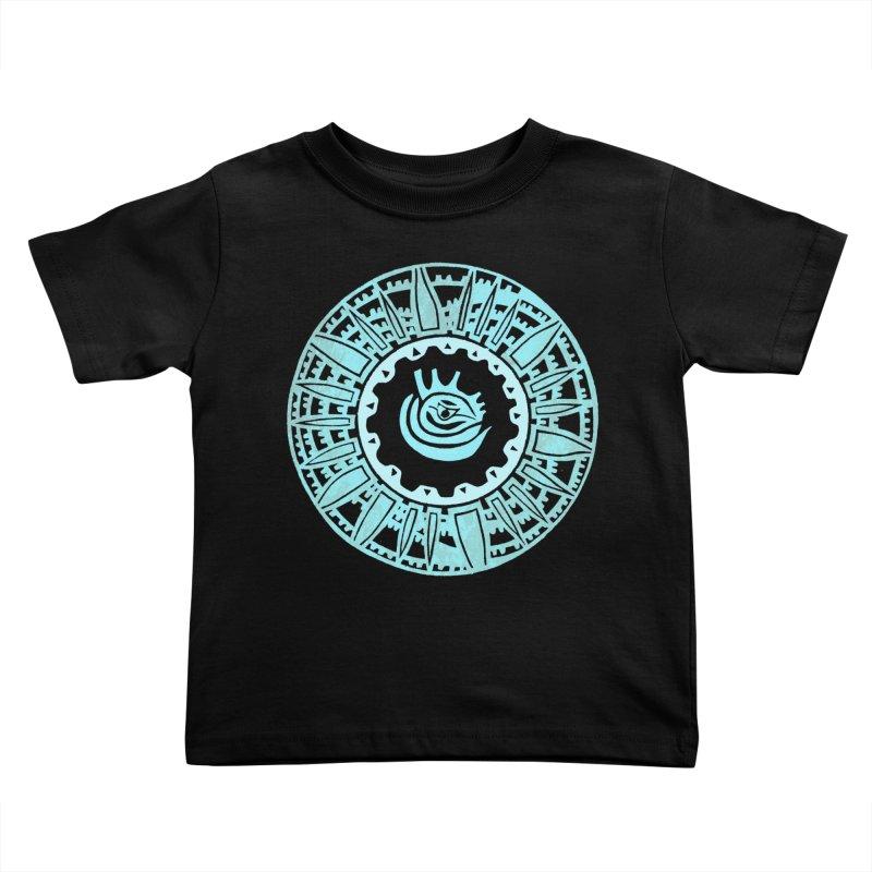 Heart Scenter Kids Toddler T-Shirt by jon cooney's print shop
