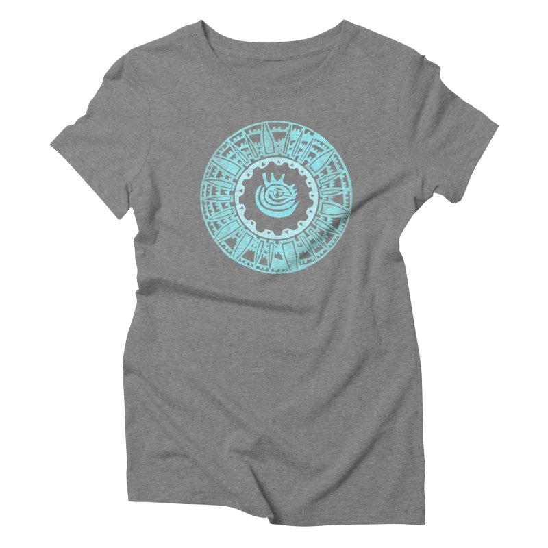 Heart Scenter Women's Triblend T-Shirt by jon cooney's print shop