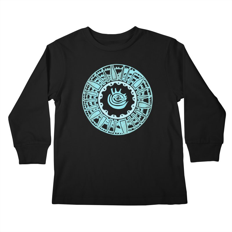 Heart Scenter Kids Longsleeve T-Shirt by jon cooney's print shop