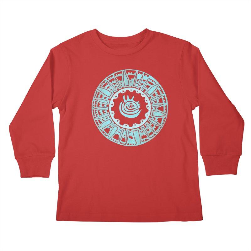 Heart Scenter Kids Longsleeve T-Shirt by jon cooney's print shop