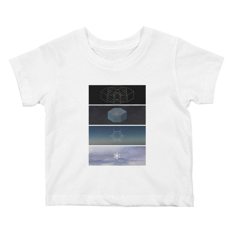 Snow Kids Baby T-Shirt by jonathanleebyrd's Artist Shop