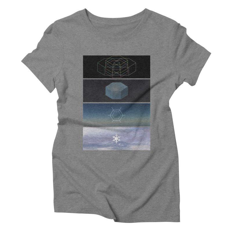 Snow Women's Triblend T-shirt by jonathanleebyrd's Artist Shop