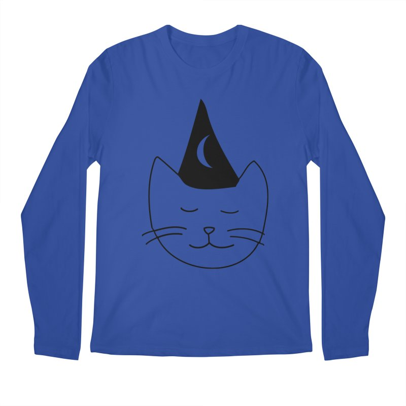Wizard Kitten Men's Longsleeve T-Shirt by jonathanleebyrd's Artist Shop