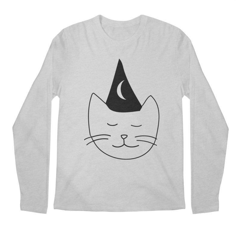 Wizard Kitten Men's Longsleeve T-Shirt by jonathanleebyrd's Artist Shop