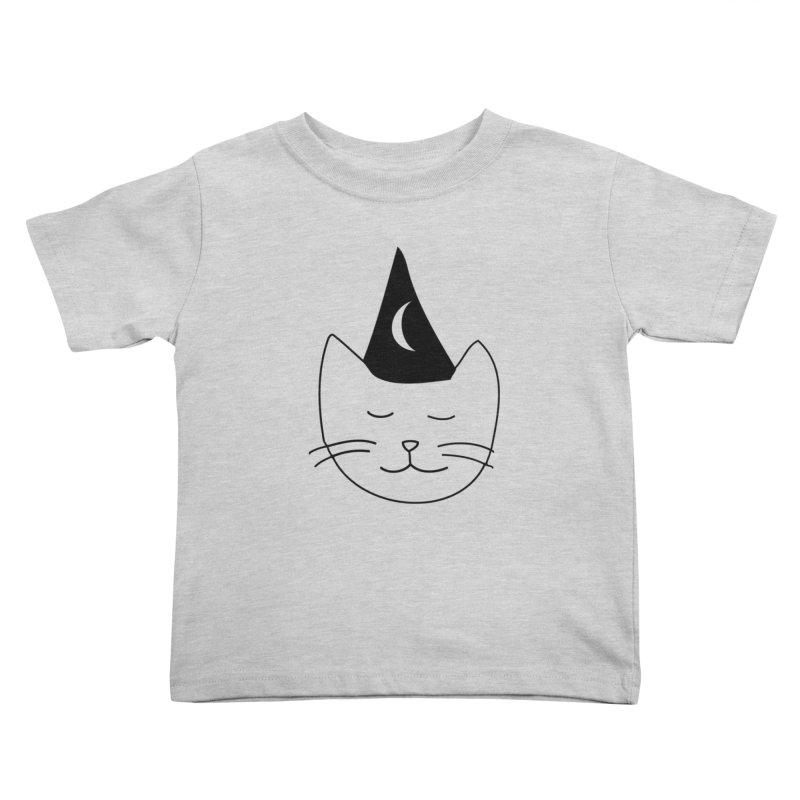 Wizard Kitten Kids Toddler T-Shirt by jonathanleebyrd's Artist Shop