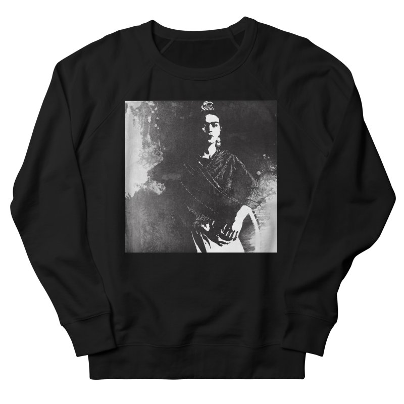 Frida Kahlo Portrait I Women's French Terry Sweatshirt by Jonathan Wilson