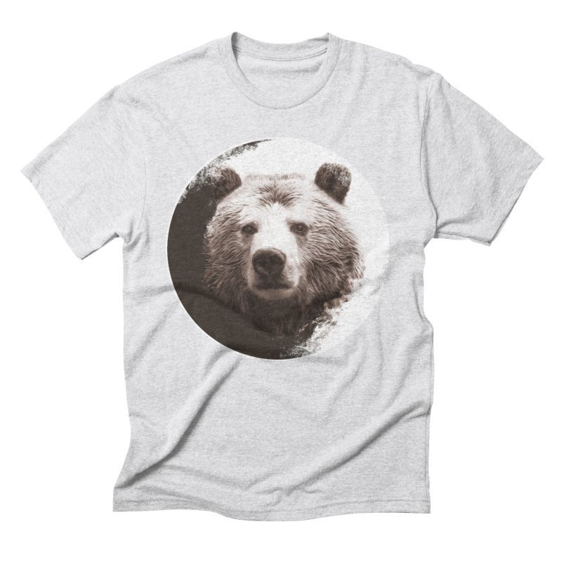 Grizzly Bear Men's T-Shirt by Jonathan Wilson
