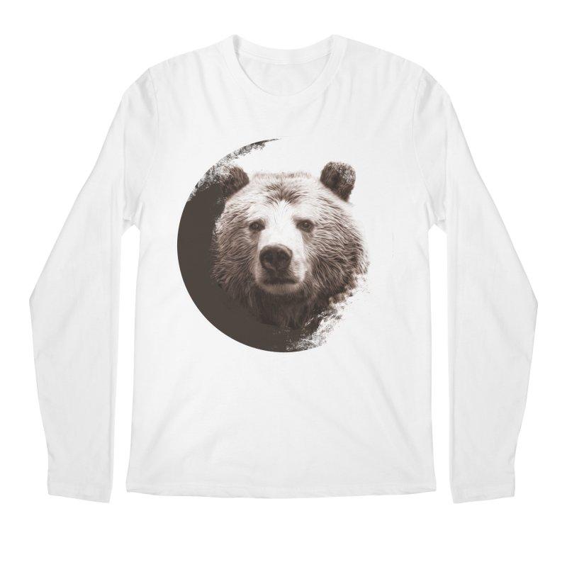 Grizzly Bear Men's Regular Longsleeve T-Shirt by Jonathan Wilson