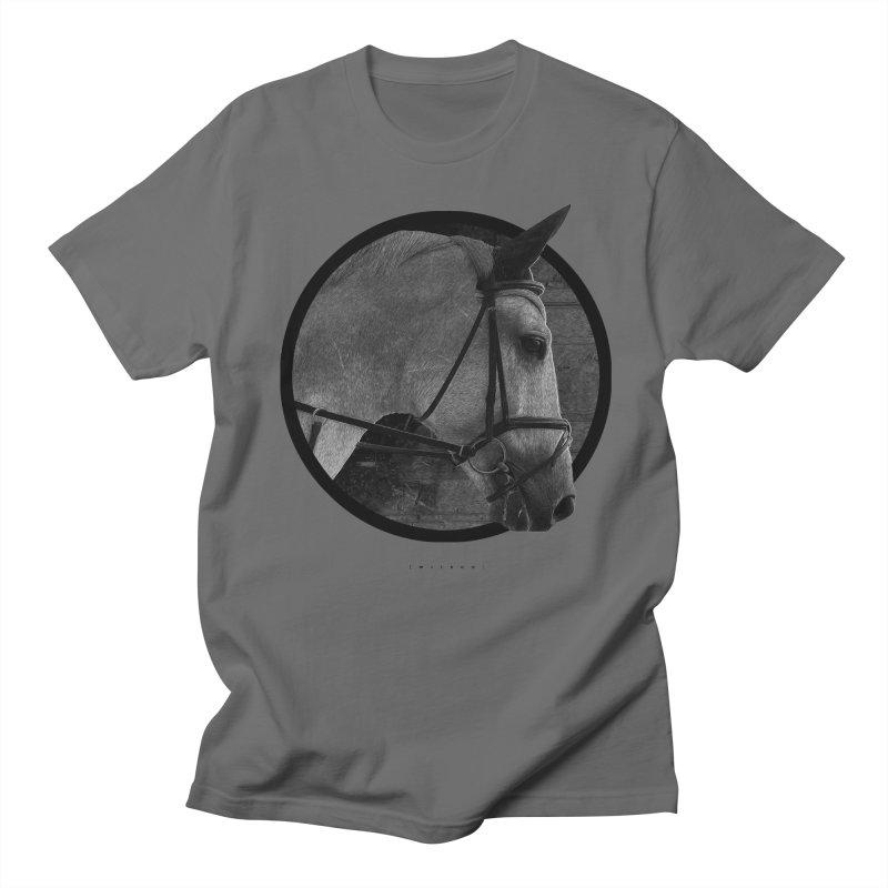 Horse Men's T-Shirt by Jonathan Wilson