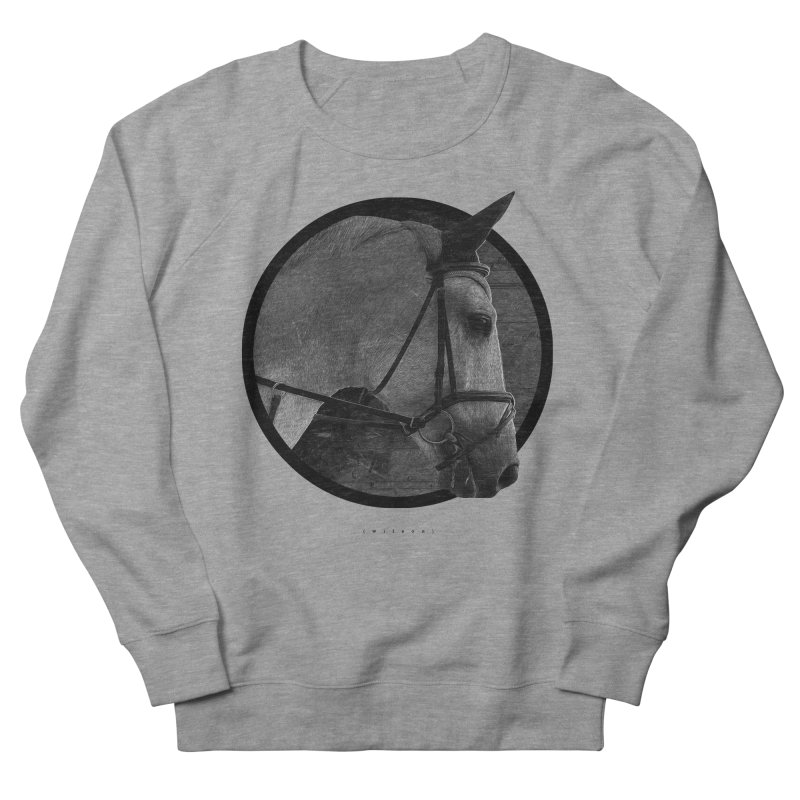 Horse Women's French Terry Sweatshirt by Jonathan Wilson
