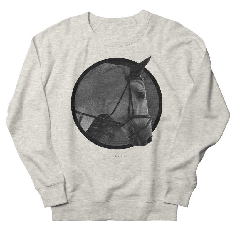 Horse Women's French Terry Sweatshirt by Jonathan Wilson