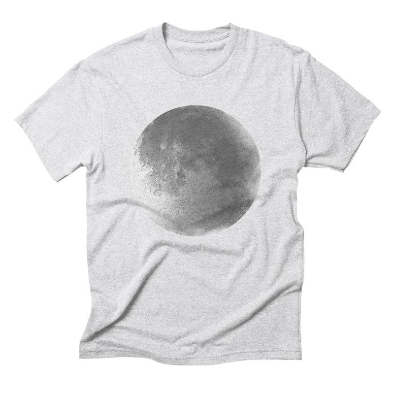 Faded Moon  Men's Triblend T-Shirt by Jonathan Wilson