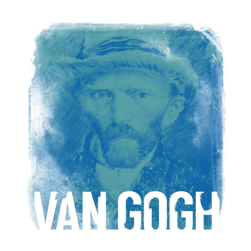 Van Gogh Self Portrait by Jonathan Wilson