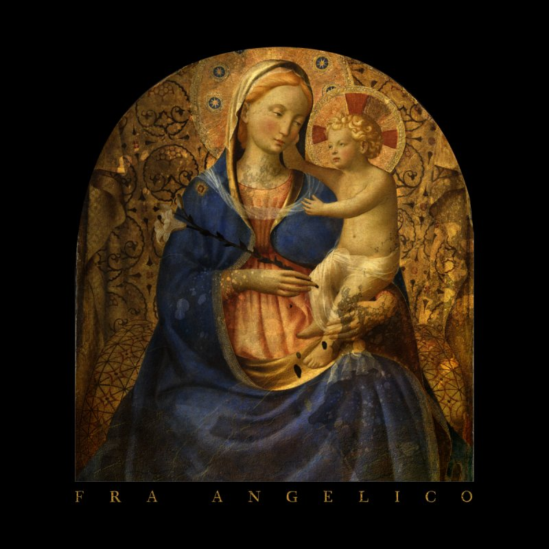 Madonna and Child - Fra Angelico by Jonathan Wilson