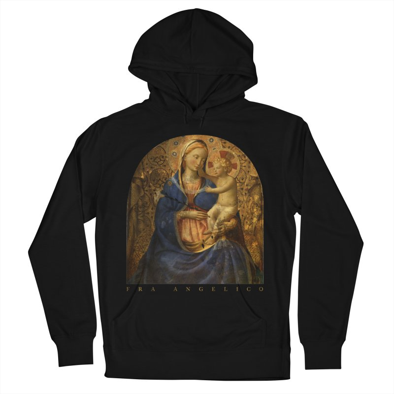Madonna and Child - Fra Angelico Women's French Terry Pullover Hoody by Jonathan Wilson