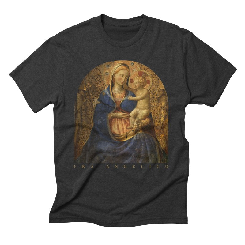 Madonna and Child - Fra Angelico Men's Triblend T-Shirt by Jonathan Wilson