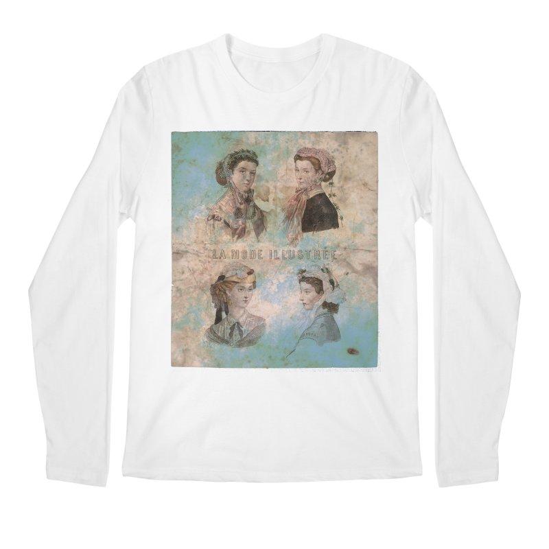 La Mode Illustrée - Vintage Fashion Illustration Design Men's Regular Longsleeve T-Shirt by Jonathan Wilson