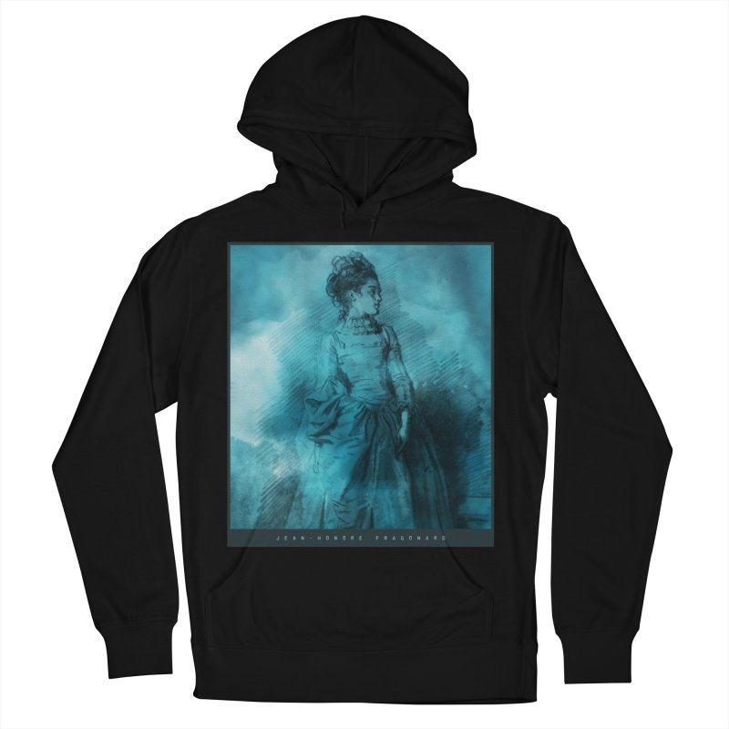 Jean-Honoré Fragonard Sketch Women's French Terry Pullover Hoody by Jonathan Wilson