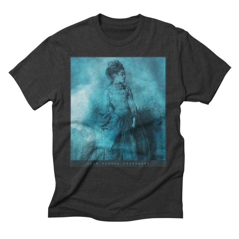 Jean-Honoré Fragonard Sketch Men's Triblend T-Shirt by Jonathan Wilson