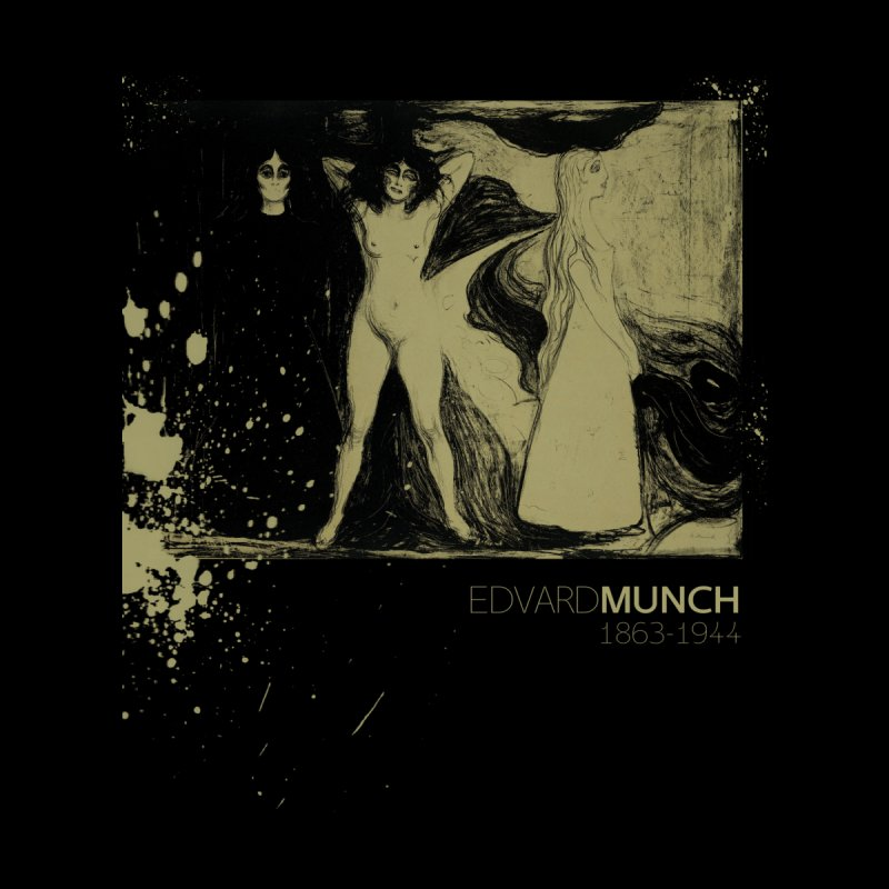 Das Weib Print by Edvard Munch  by Jonathan Wilson