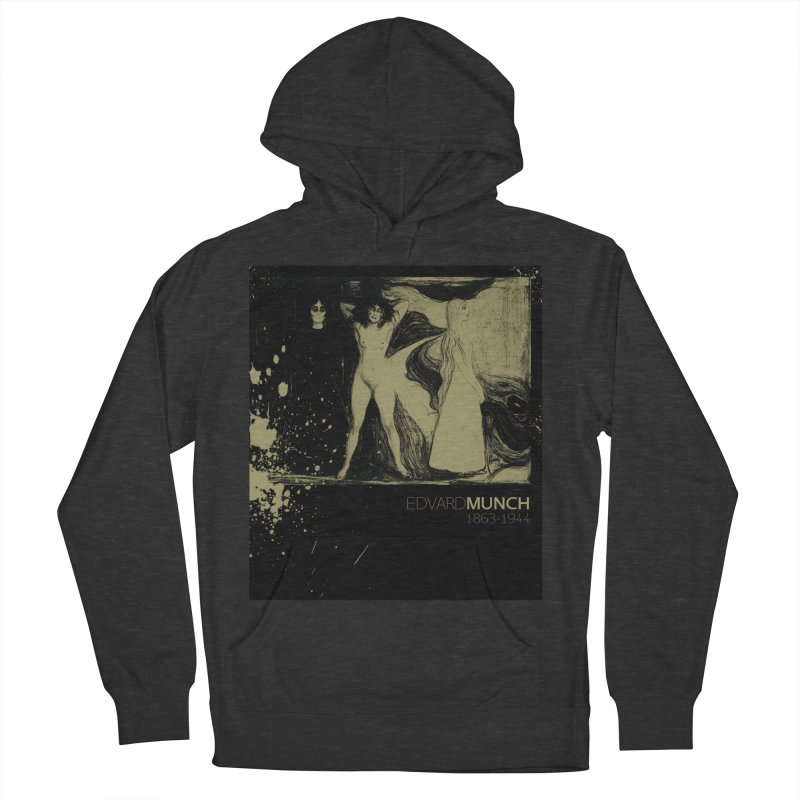 Das Weib Print by Edvard Munch  Women's French Terry Pullover Hoody by Jonathan Wilson