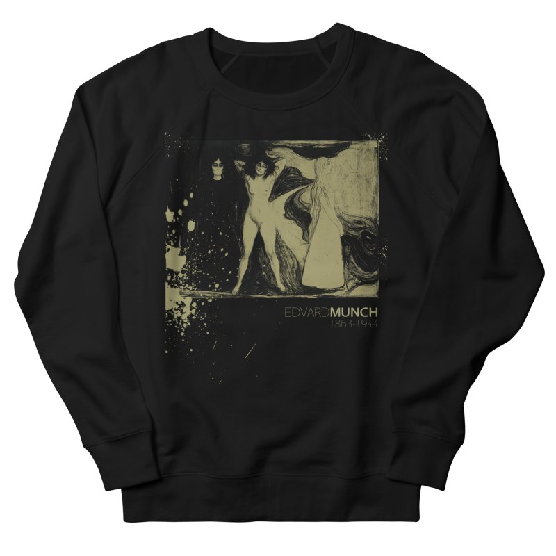 Das Weib Print by Edvard Munch  Women's French Terry Sweatshirt by Jonathan Wilson