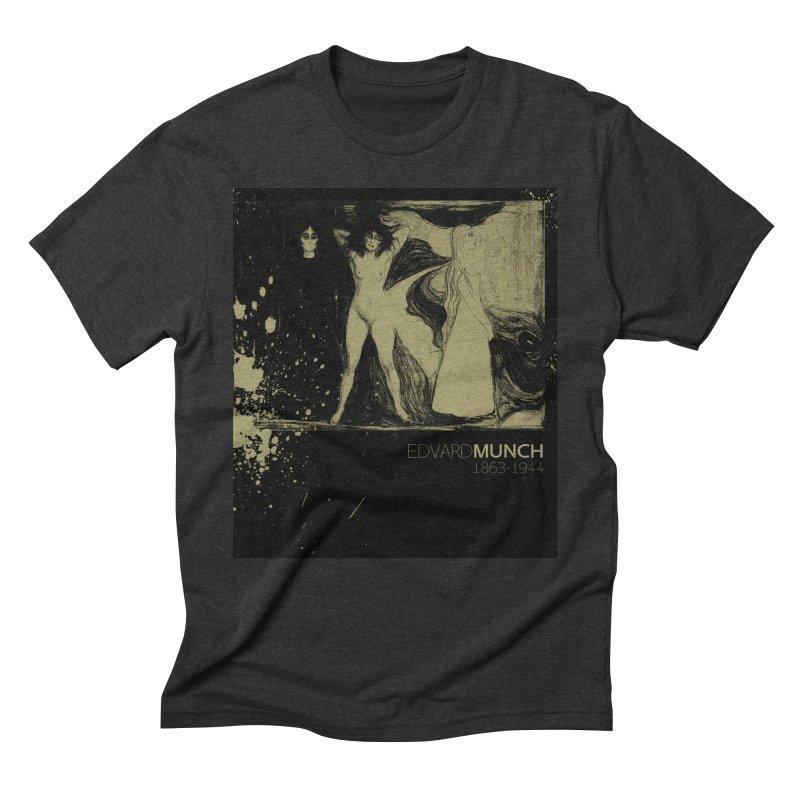 Das Weib Print by Edvard Munch  Men's Triblend T-Shirt by Jonathan Wilson