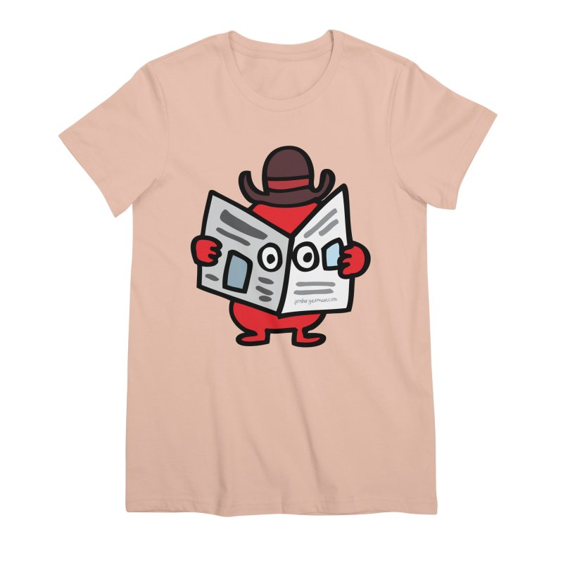 Spy Women's Premium T-Shirt by Jon Burgerman's Artist Shop