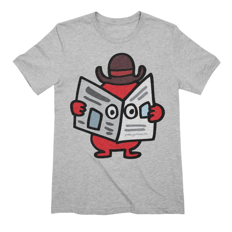 Spy Men's Extra Soft T-Shirt by Jon Burgerman's Artist Shop