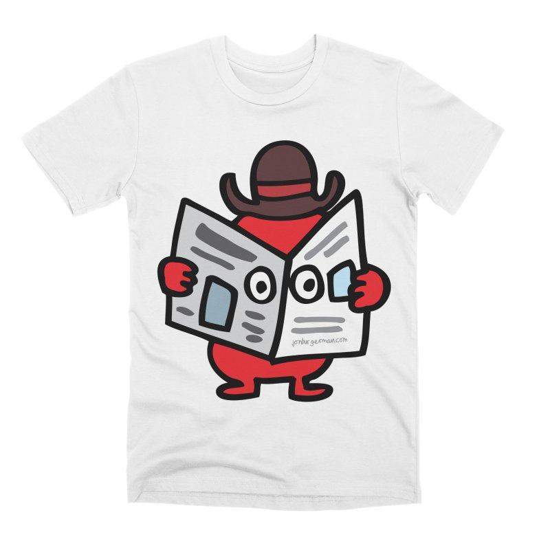 Spy Men's Premium T-Shirt by Jon Burgerman's Artist Shop