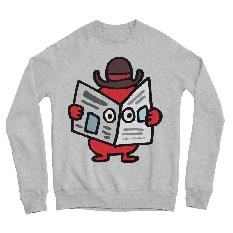 Spy Women's Sponge Fleece Sweatshirt by Jon Burgerman's Artist Shop