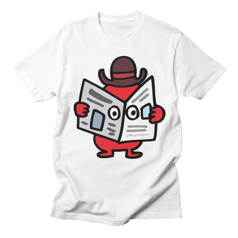 Spy Women's Regular Unisex T-Shirt by Jon Burgerman's Artist Shop