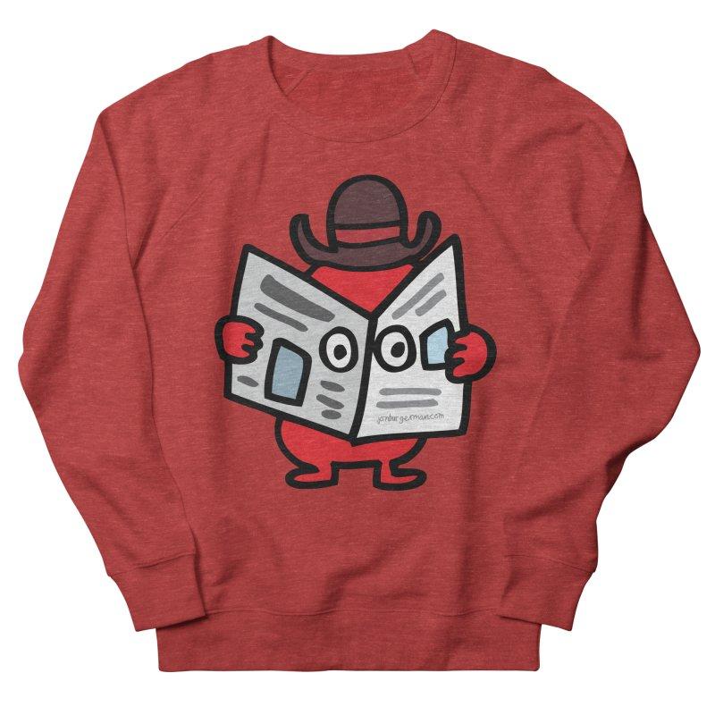 Spy Men's French Terry Sweatshirt by Jon Burgerman's Artist Shop