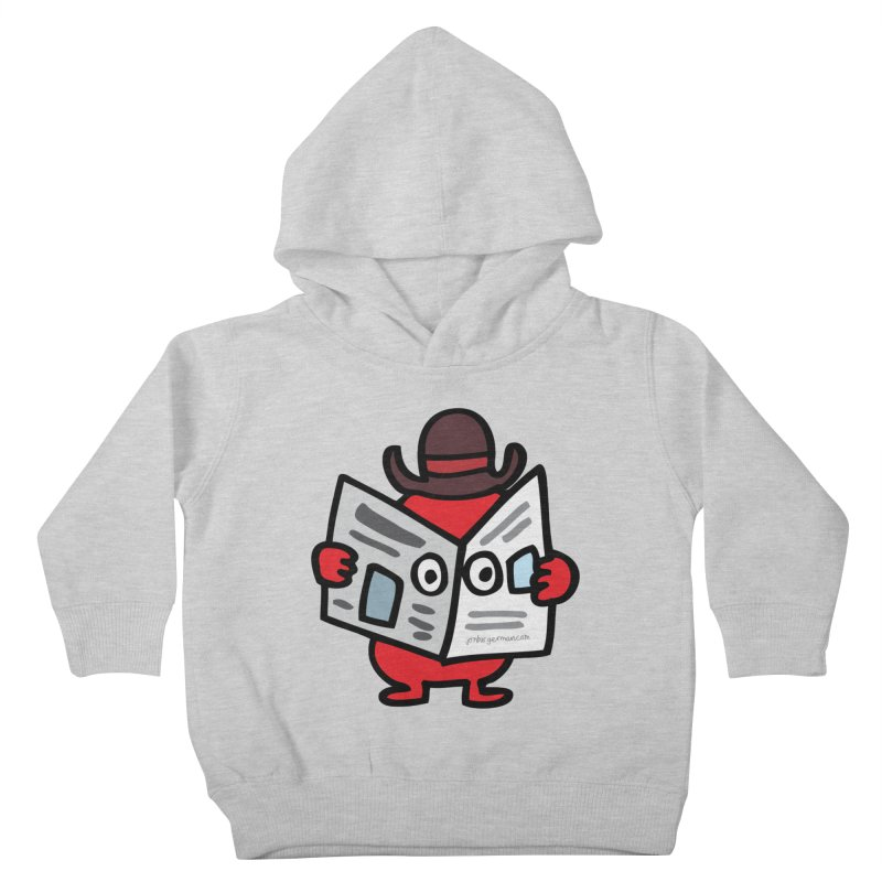 Spy Kids Toddler Pullover Hoody by Jon Burgerman's Artist Shop