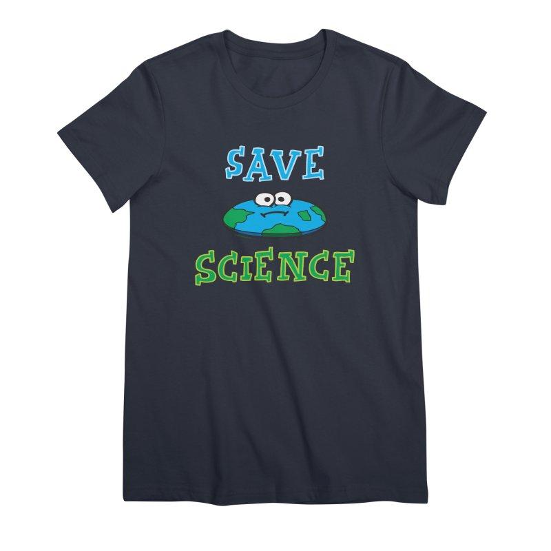 Save Science Women's Premium T-Shirt by Jon Burgerman's Artist Shop