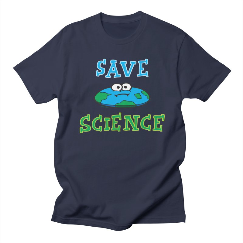 Save Science Men's Regular T-Shirt by Jon Burgerman's Artist Shop