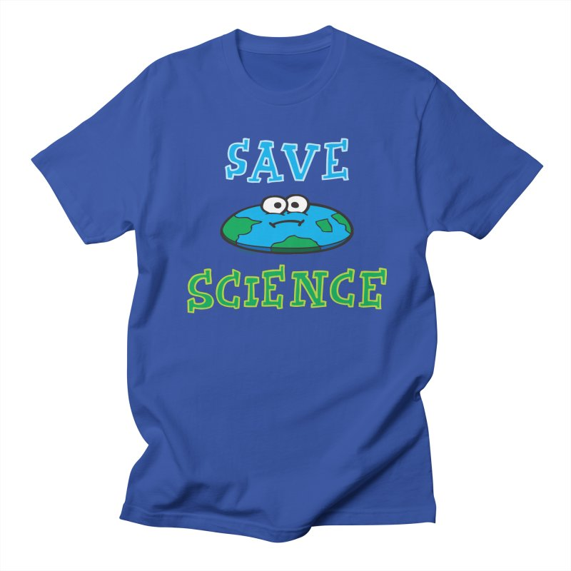 Save Science Women's Regular Unisex T-Shirt by Jon Burgerman's Artist Shop