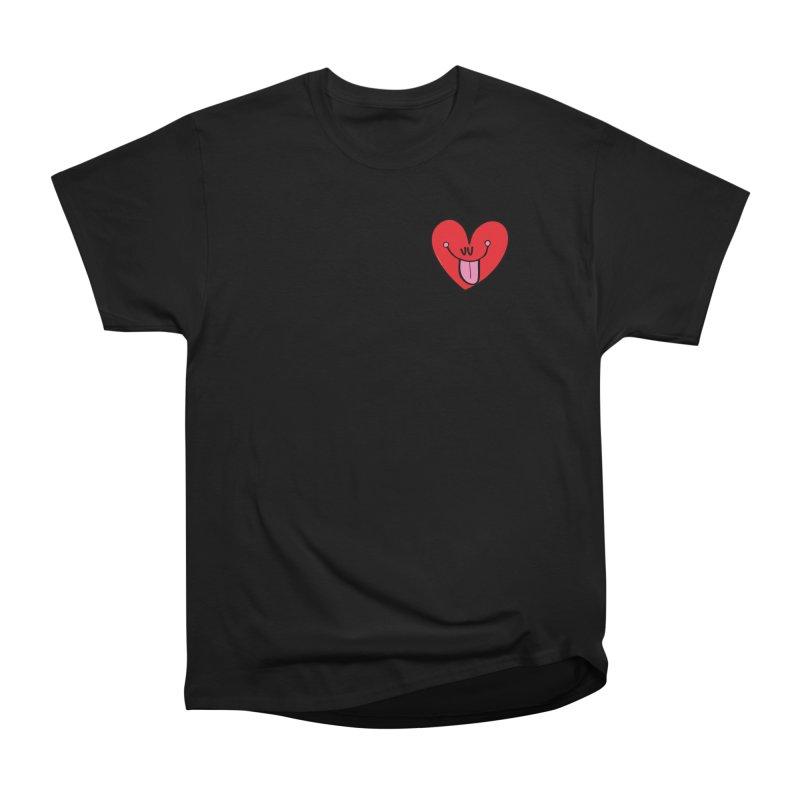Heart Women's Heavyweight Unisex T-Shirt by Jon Burgerman's Artist Shop