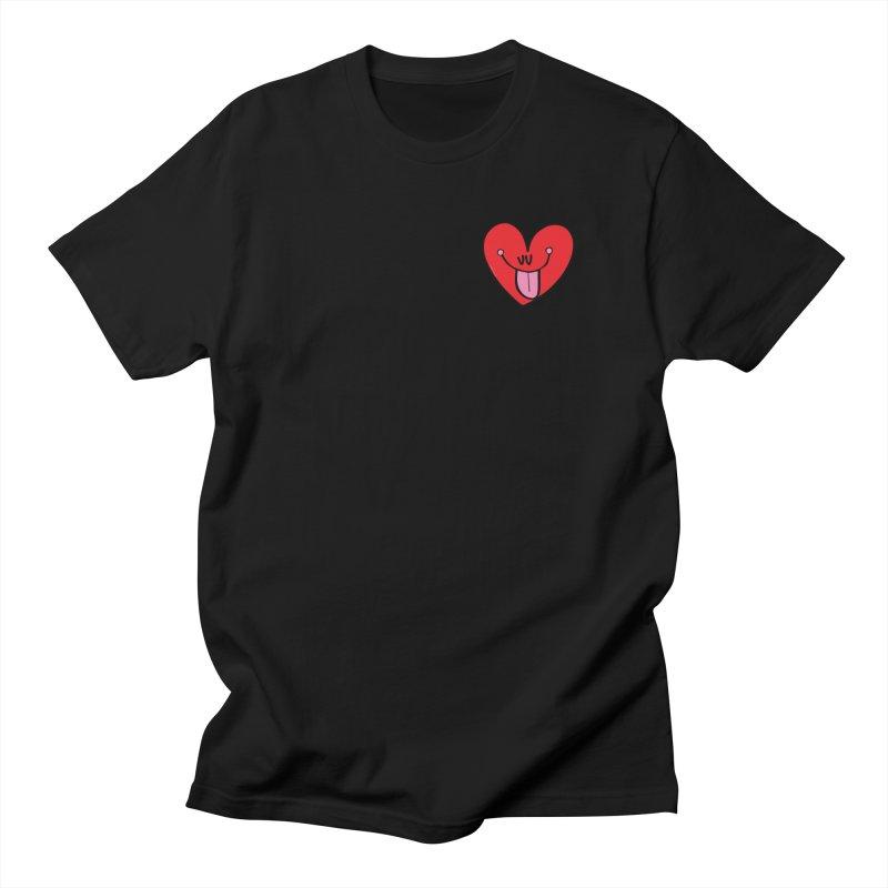 Heart Men's Regular T-Shirt by Jon Burgerman's Artist Shop
