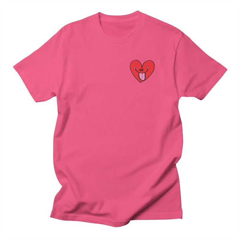 Heart Women's Regular Unisex T-Shirt by Jon Burgerman's Artist Shop