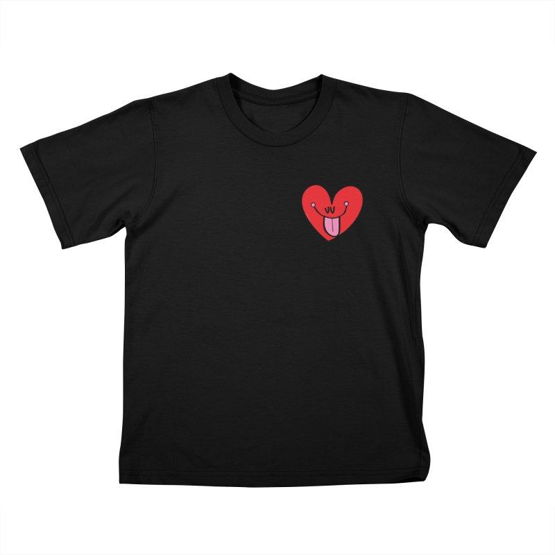 Heart Kids T-Shirt by Jon Burgerman's Artist Shop