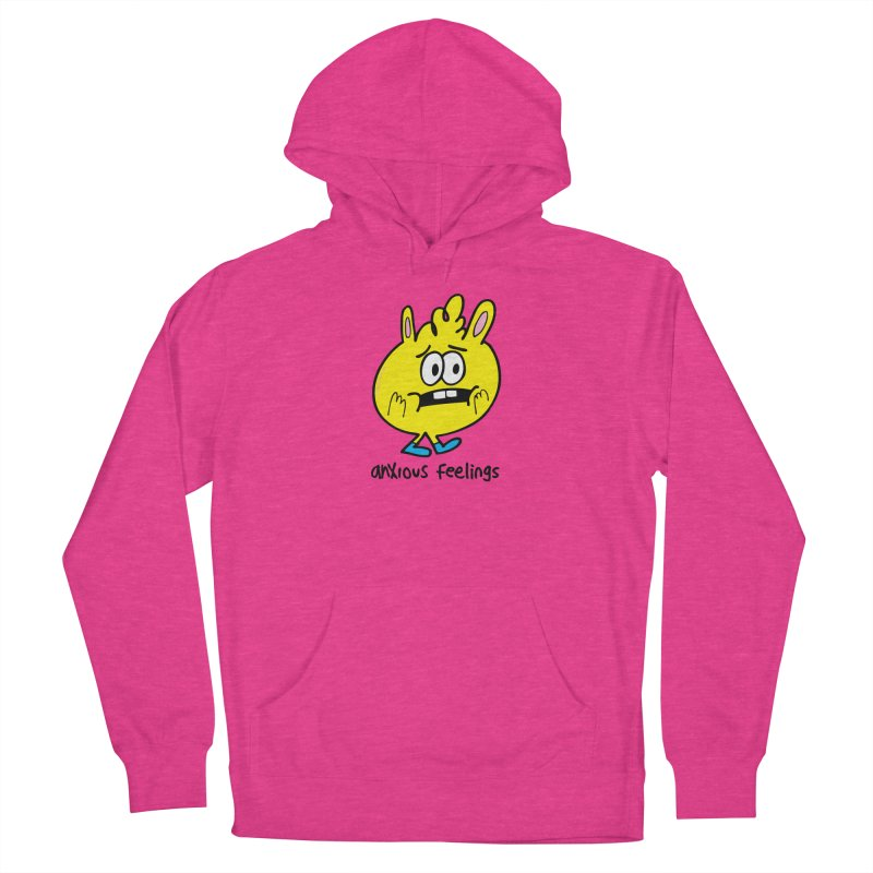 Anxious Feelings Men's Pullover Hoody by Jon Burgerman's Artist Shop