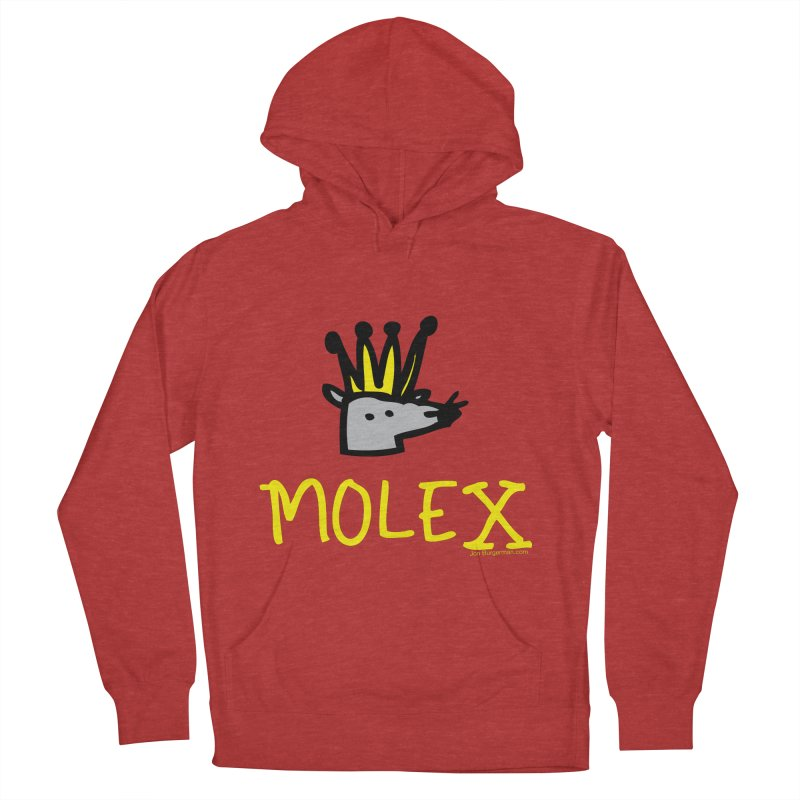 Molex Women's Pullover Hoody by Jon Burgerman's Artist Shop