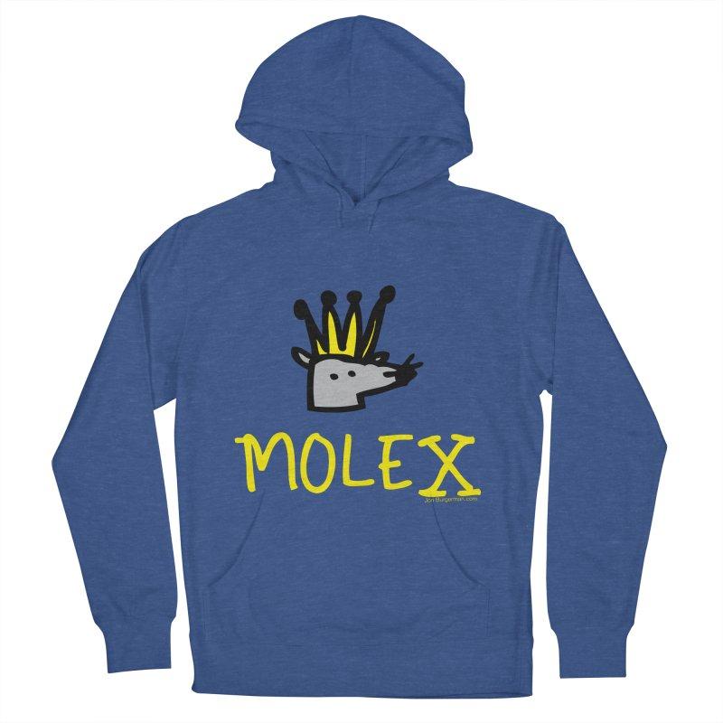 Molex Men's French Terry Pullover Hoody by Jon Burgerman's Artist Shop