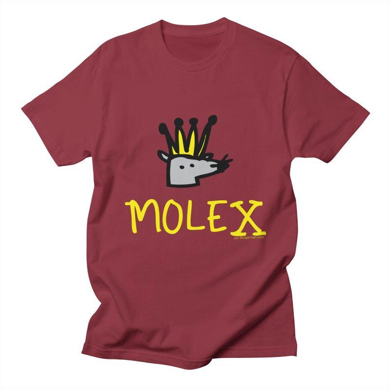 Molex Men's T-Shirt by Jon Burgerman's Artist Shop