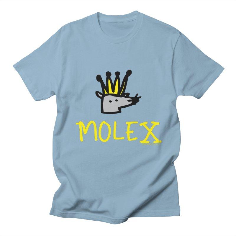 Molex Men's Regular T-Shirt by Jon Burgerman's Artist Shop