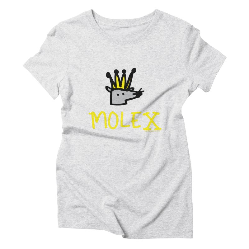 Molex Women's Triblend T-Shirt by Jon Burgerman's Artist Shop
