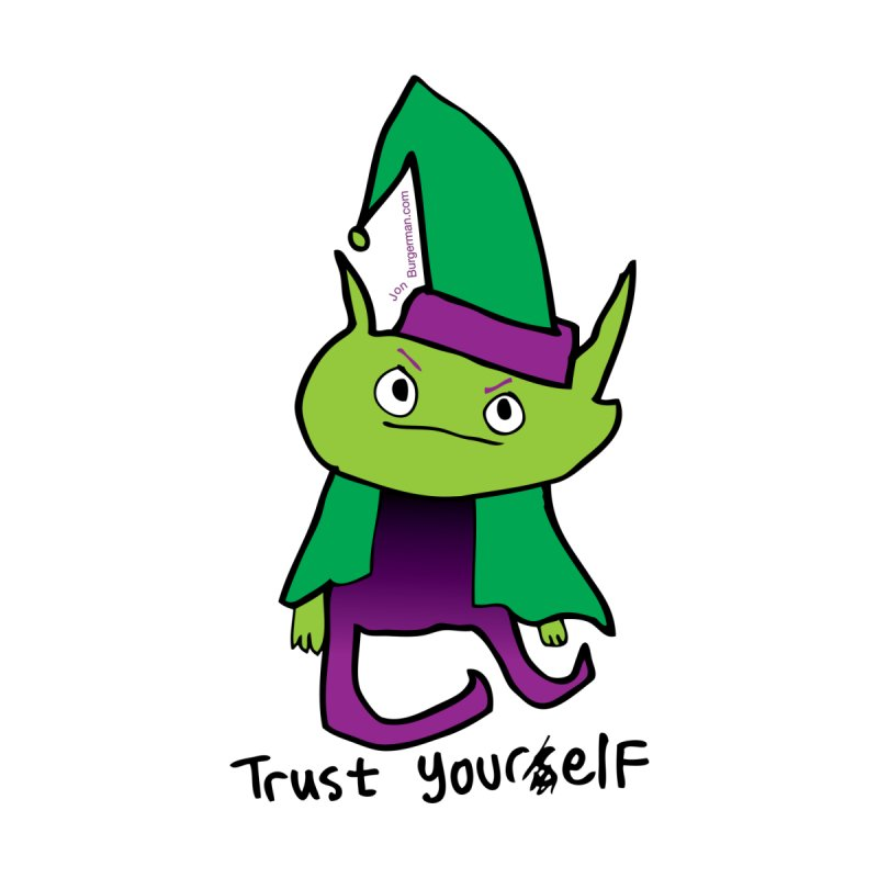 Trust Your elf None  by Jon Burgerman's Artist Shop